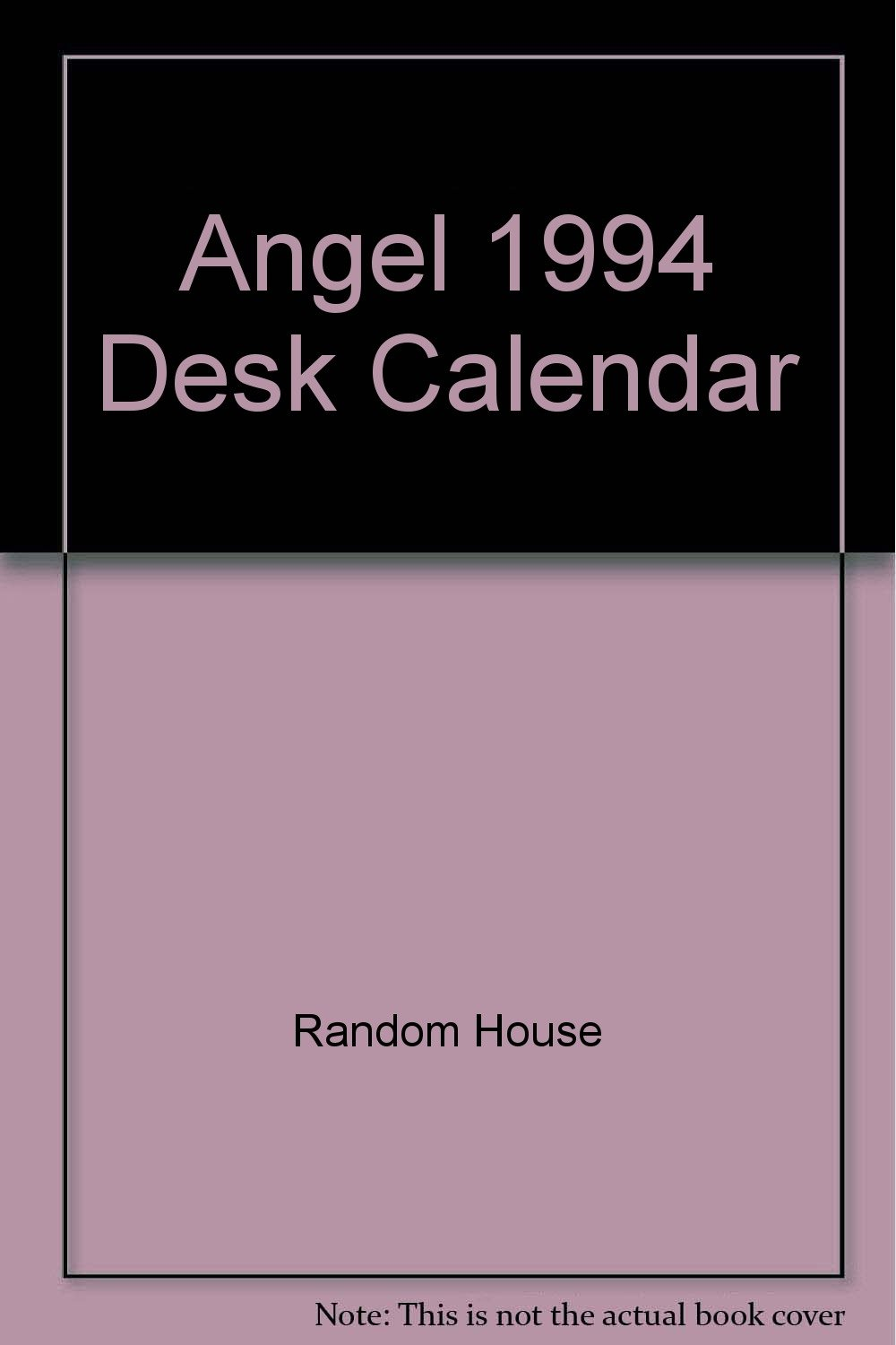 angel 1994 desk calendar