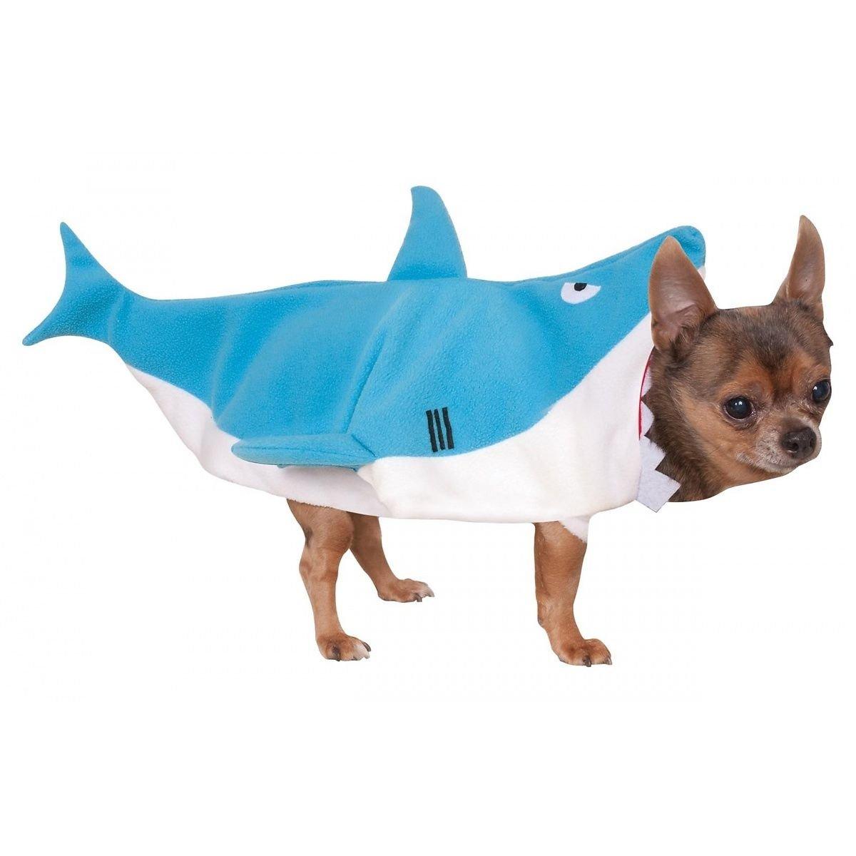 CSwonder - Disfraz de tiburón azul para mascotas pequeñas, perro ...
