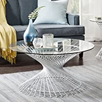 Melrose Coffee Table Silver See below