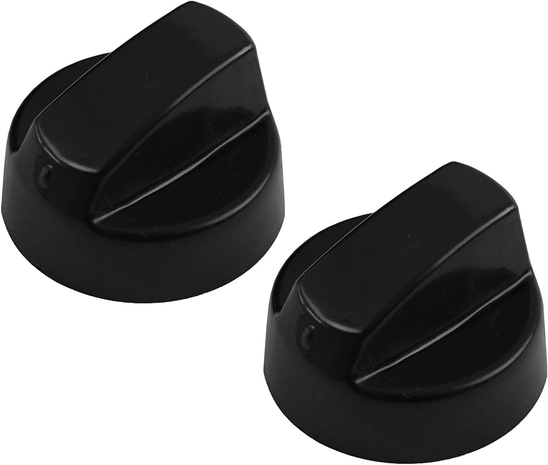 paquete de 1, 2, 3, 4, 5 o 6 + adaptadores estufas y prensa para pantalones Spares2go Universal Negro perilla de Control para todas las marcas y modelos de tostadoras