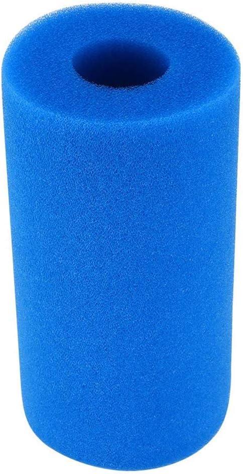 Washable Sponge Foam Cartridge Suitable Pool Reusable Foam Filter 2PCs Momola Filter Sponge Foam Filter