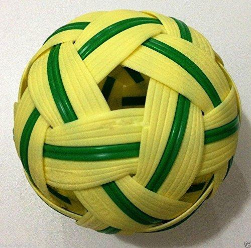 Sepak Takraw Ball KickバレーボールKung Fu Rattanタイスポーツtakro Collectible 1個。タイ B010DMCE1W