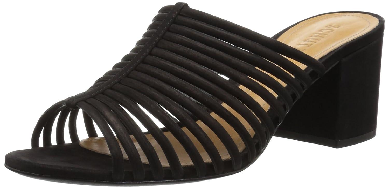 SCHUTZ Women's Cecillya Flat Sandal B01MF9W24D 6.5 M US|Black
