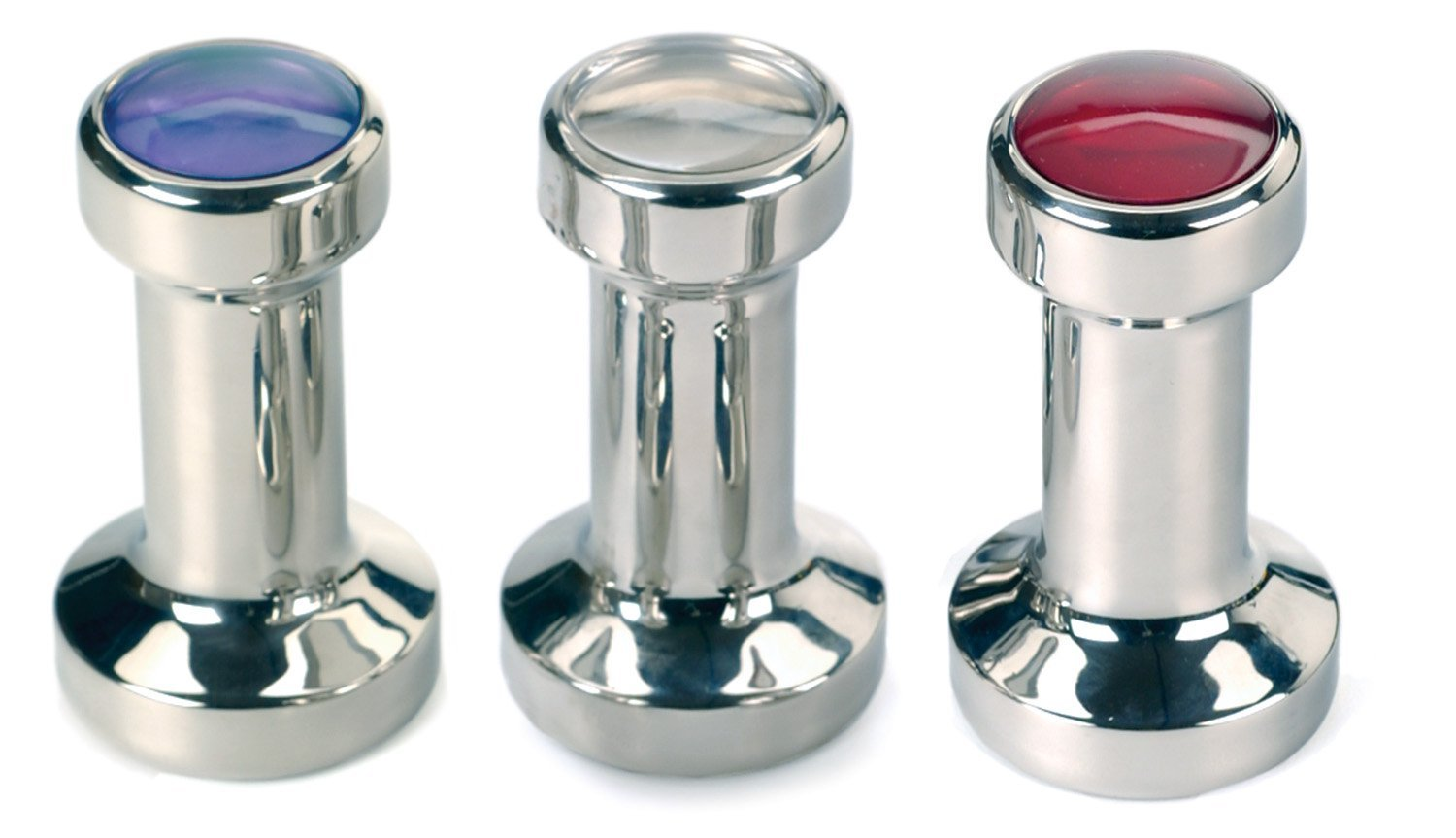 Red 49mm Espresso Tamper Stainless Steel Coffee
