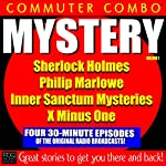 Commuter Combo, Mystery Vol 1 |  PDQ Audiobooks