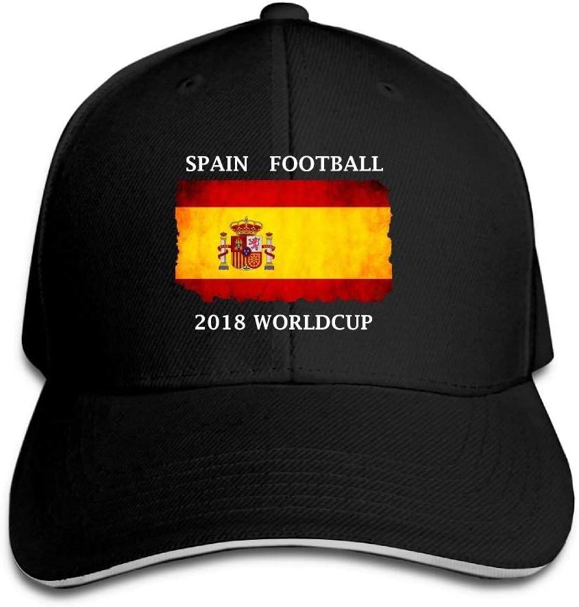 Vintage Adulto Fútbol de España 2018 Copa Mundial MOM Sombrero ...
