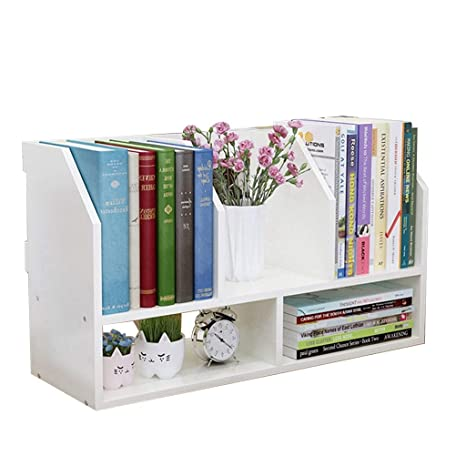 Amazon.com: Bookcases Bookshelf Simple Table Storage Rack ...