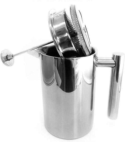 Olla de presión de Acero Inoxidable con Filtro Cafetera Tetera con ...