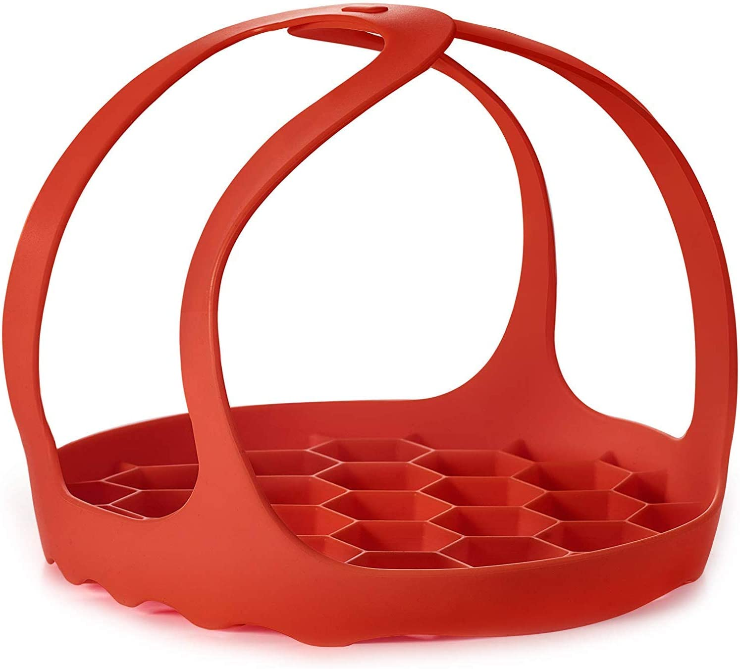 Silicone Trivet For Instant Pot | Fits 6,8 Qt Instapot, Ninja Foodi and Other Pressure Cookers | 3-in-1 - Bakeware Pan Sling Lifter, Egg Rack, and Roasting Rack