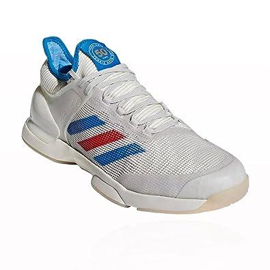 new product 113eb ff725 adidas Chaussures de Tennis Adizero Ubersonic 2 50th Anniversary, Blanc, 48  23