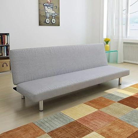Luckyfu Diseno Moderno Mobiliario Sofas Sofa-Cama Color Gris ...