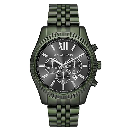 d84e2107e621 Michael Kors Men s Analogue Quartz Watch with Stainless Steel Strap MK8604   Amazon.co.uk  Watches