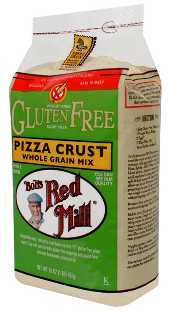Bob's Red Mill PIZZA CRUST Whole Grain Mix GLUTEN FREE 16oz (5 pack)