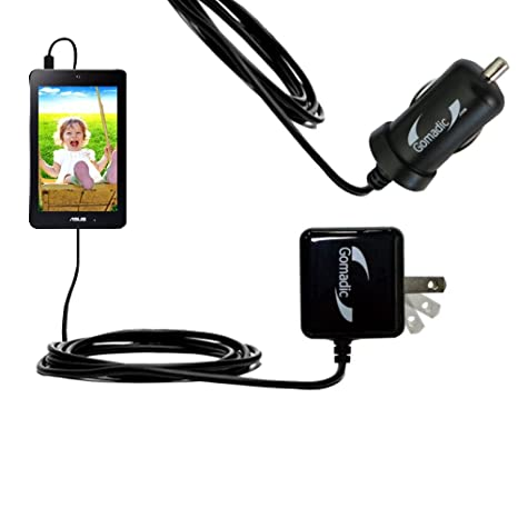 Amazon.com: Gomadic coche y cargador de pared Kit Esencial ...