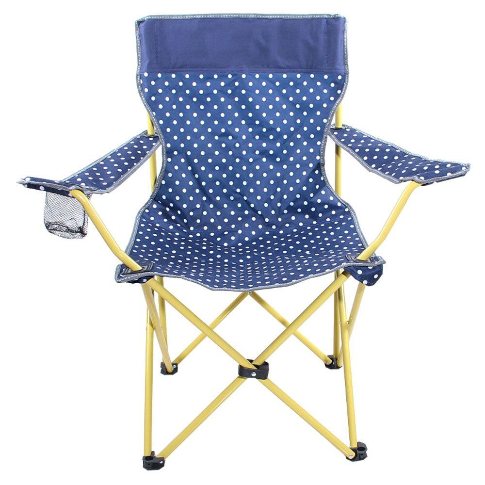 【返品送料無料】 GzHホームアウトドアキャンプ椅子ポータブルレジャー釣りピクニック防水折りたたみ椅子 B07DLXV39K ブルー B07DLXV39K, ドリームウォーク:fb953833 --- cliente.opweb0005.servidorwebfacil.com