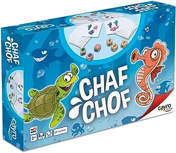 Cayro - Chaf Chof - Juego de Agilidad y rapidez Visual - Juego Infantil - Juego de Mesa - (855): Amazon.es: Juguetes y juegos