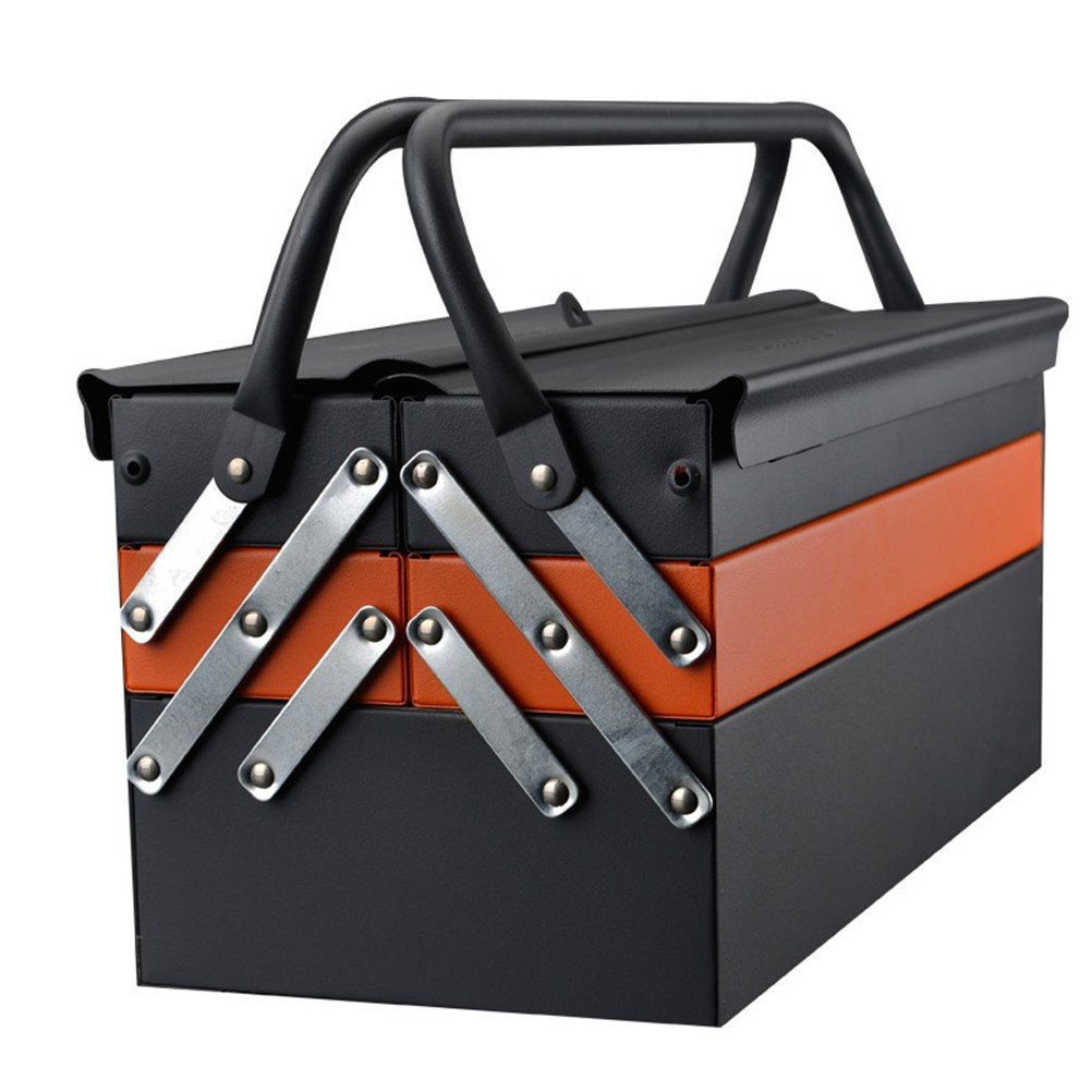 Lightdot Hardware Portable Cantilever Toolbox, 5 Drawers Metal Tools Box by HAR-DEN (Image #6)