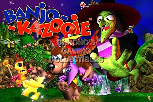 CGC Huge Poster - Banjo Kazooie - N64