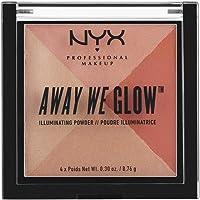 NYX Maquillaje profesional en polvo que brilla, Summer Reflection, 1.2 Ounce