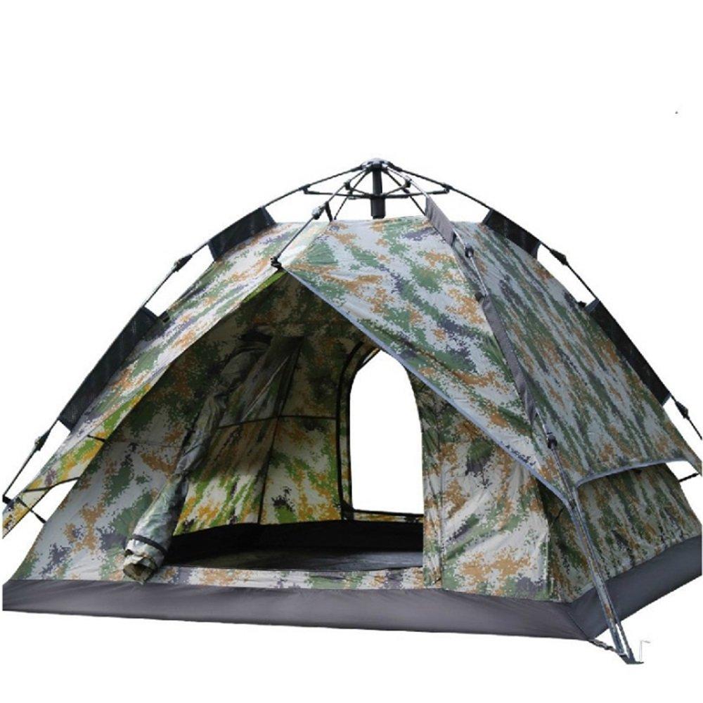 YuFLangel Im Freien 23 Leute-automatisches Zelt-Starkes Doppeltes Gewebe-regendichte Ventilation Mehr Leute, die kampieren Beach Tent