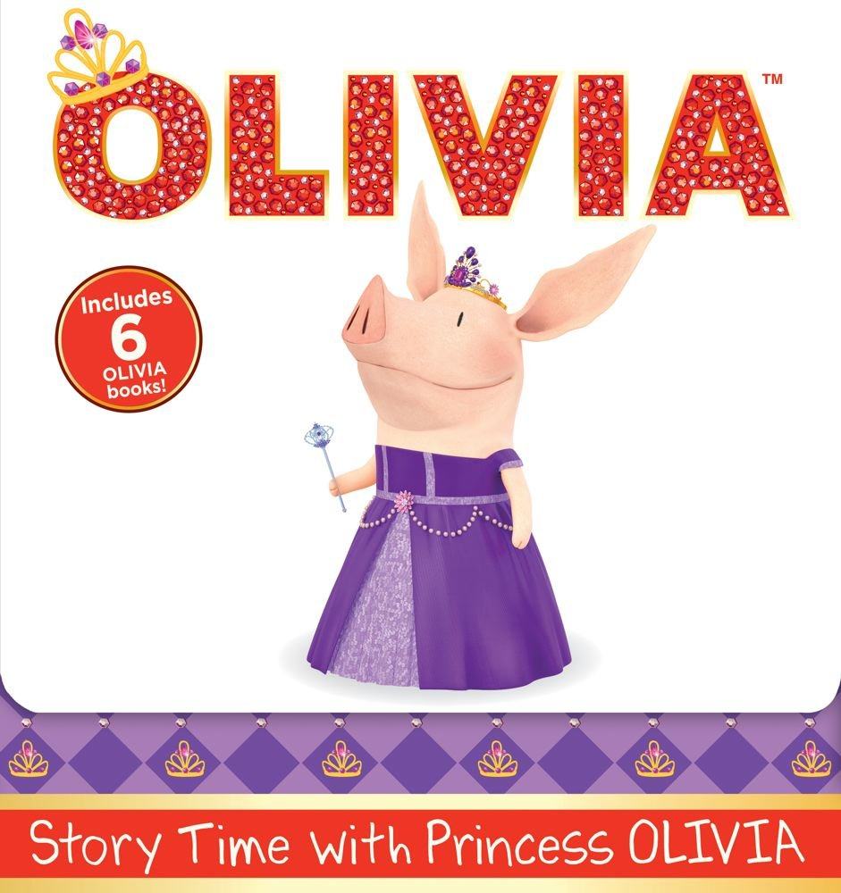 Story Time with Princess OLIVIA: Olivia the Princess; Olivia and the Puppy Wedding; Olivia Sells Cookies; Olivia and the Best Teacher Ever; Olivia ... Olivia and Grandma's Visit (Olivia TV Tie-in)