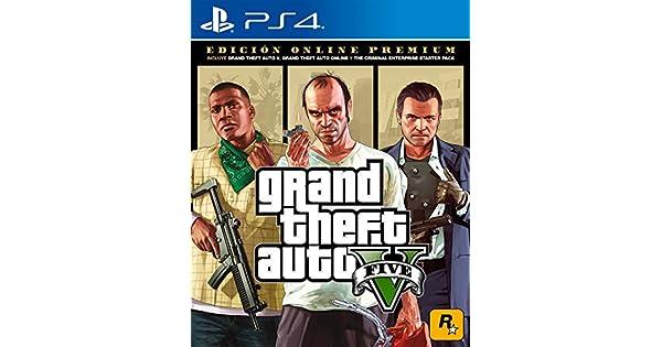 Amazon com: Grand Theft Auto V Premium Online Edition - PlayStation