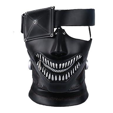 Yacn Anime Tokyo Ghoul Mask, Kaneki Ken Mask,3D Mask Japan Cosplay Mask