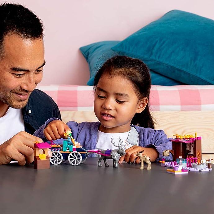 Lego 乐高 Disney Frozen 冰雪奇缘II系列 41166 艾莎的马车大冒险 积木玩具 8折$23.99 海淘转运到手约¥186