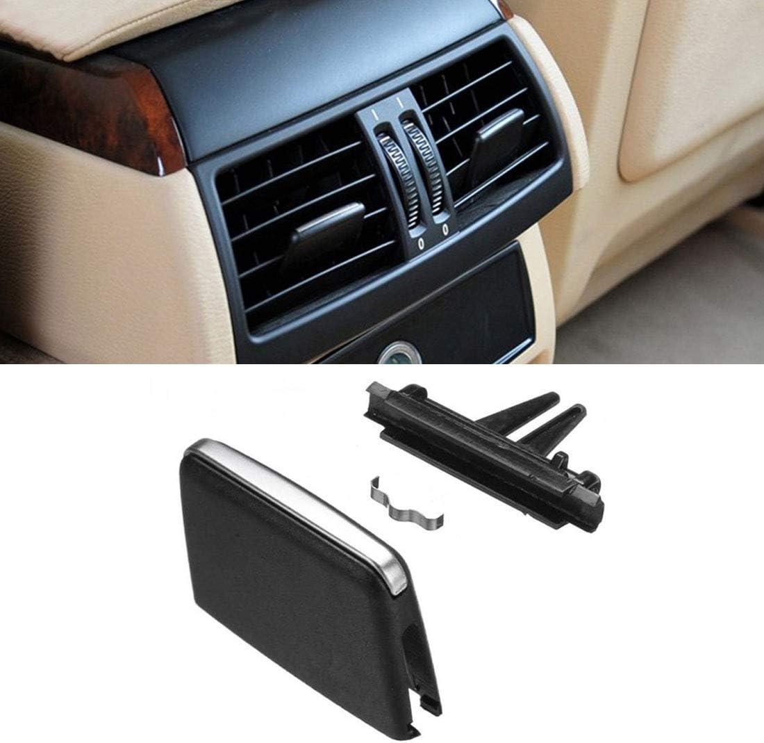 ABS Gloss Black Rear Air Outlet Vent Frame Trim For BMW X5 X6 E70 E71 2008-2013