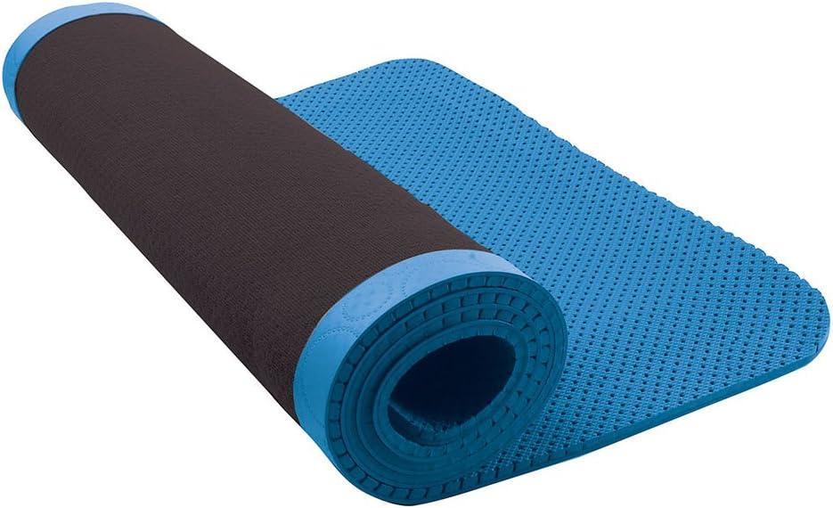 Amazon Com Nike Ultimate Pilates Mat 8mm Blue Yoga Exercise Mat Sports Outdoors