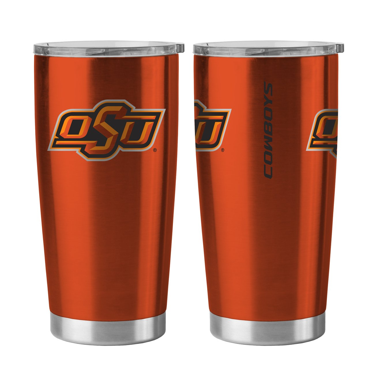 Oklahoma State Cowboys 20 oz Ultra Stainless Steel Travel Tumbler by Boelter Sports