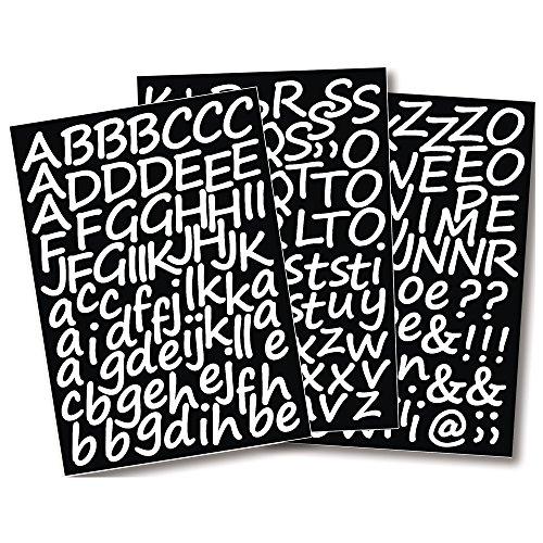 RAYHER 38921000 Klebebuchstaben Schreibschrift, 3 cm, DIN A4, selbstklebend, SB-Beutel