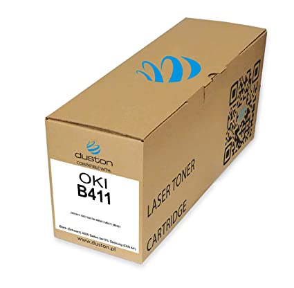 Tóner Negro B411 Compatible con Oki B411 B431 B431dn MB461 MB471 ...