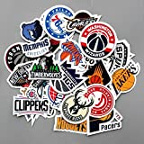 CJB NBA Logo Signs Skateboard Vinyl Sticker Pack - Best Reviews Guide