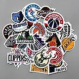 Best CJB Box Sets - CJB NBA Logo Signs Skateboard Vinyl Sticker Pack Review