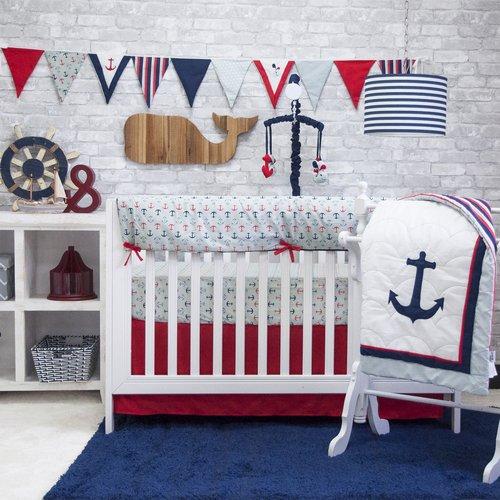 6 Piece Crib Set - 5