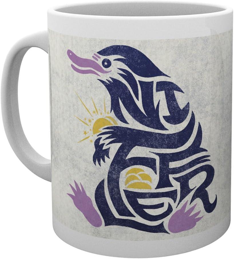 GB eye LTD, Animales fantásticos y dónde encontrarlos, Niffler Graphic Symbol, Taza: Amazon.es: Hogar