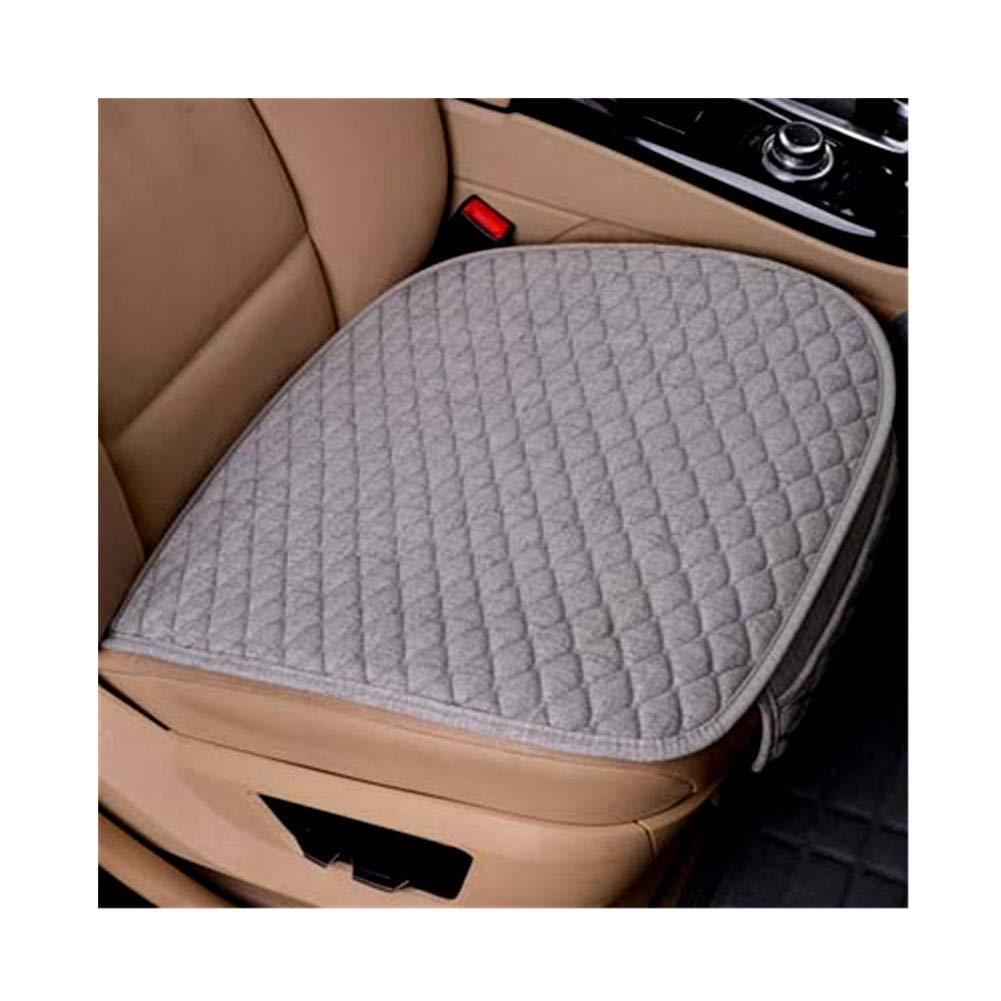 Queenbox/® Leinengewebe Autositzbezug Atmungsaktiv Autositz Pad f/ür Auto Auto B/ürostuhl Autositzkissen Autositz Pads Universal Gr/ö/ße Alle Jahreszeiten