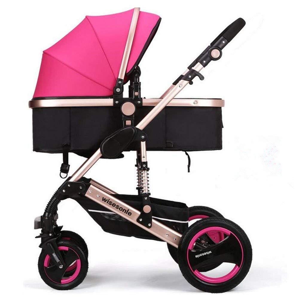 CCQQ sillas de Paseo Ligeras carritos de Bebe Plegable Carro ...
