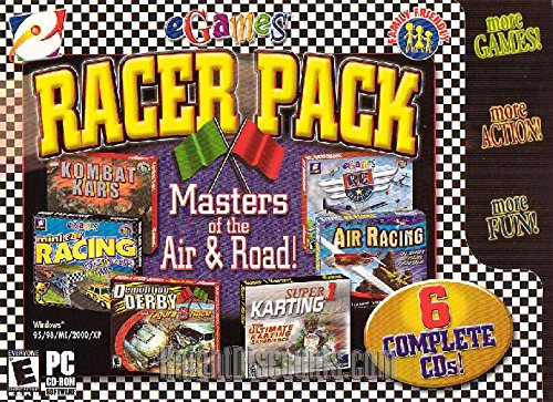Egames Racer Pack: Masters of the Air & Road (6 games) (K...