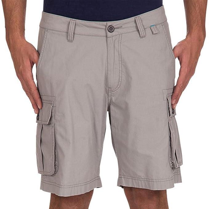 Short Cargo Coton Uni Hadar Gris Moyen - Oxbow: Amazon.fr: Vêtements et  accessoires