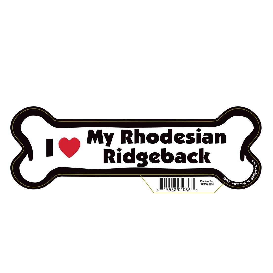 Pet Gifts USA Rhodesian Ridgeback Dog Bone Magnet