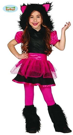 Disfraz de Lobo girl infantil talla 5-6 años: Amazon.es: Juguetes ...