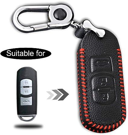 Funda de cuero Vd carbon cuero funda clave llaves del coche cover control remoto