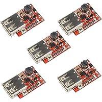 HiLetgo 5pcs DC-DC USB Buck Step Down Module
