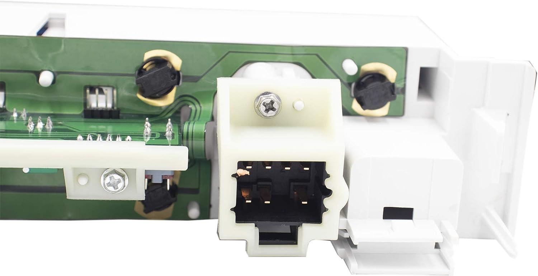 MOCW 9378815 AC Heater Control Panel w//o Rear Window Defogger for 1996-1999 Chevy Truck GMC C1500 C2500 C3500 K1500 K2500 K3500 Truck