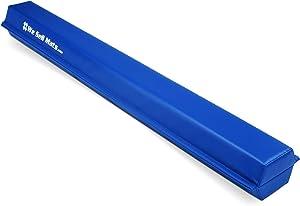 We Sell Mats 9 ft Folding Foam Balance Beam Bar, Portable Gymnastics Equipment for Gymnast, Children or Cheerleaders