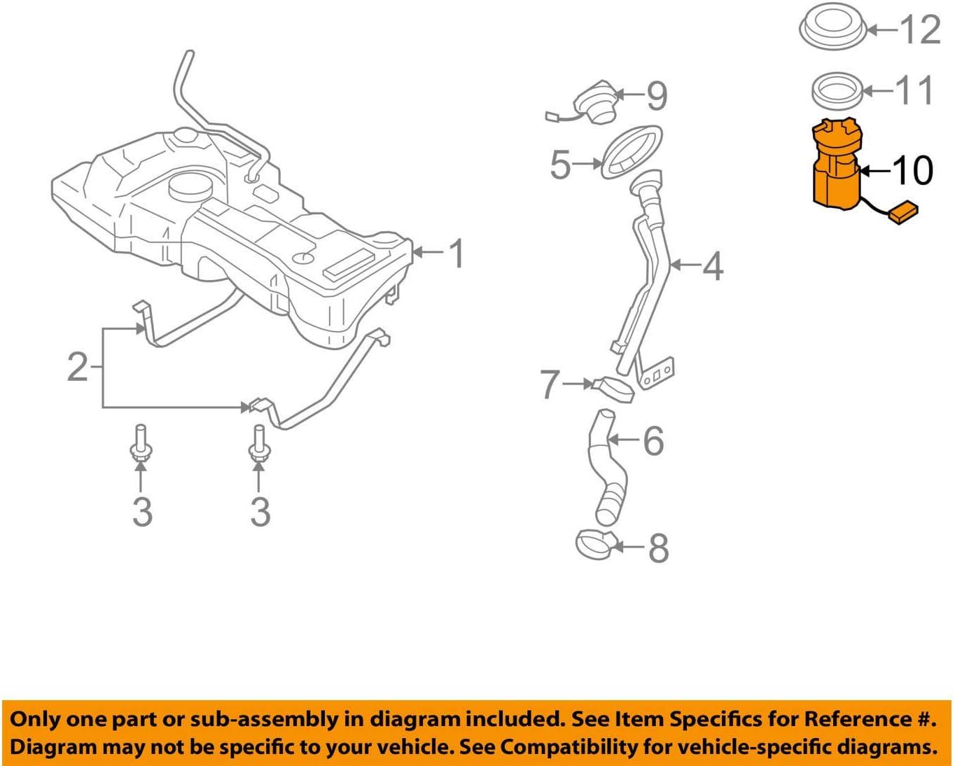 Amazon.com: Genuine Nissan Parts - Pump Compl-Fuel (170409EG0C): Automotive [ 1095 x 1374 Pixel ]
