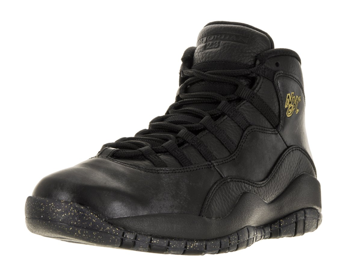 more photos 876d7 c260b Nike Jordan Men s Air Jordan Retro 10 Black Black Drk Grey Mtllc Gld Basketball  Shoe 8.5 Men US  Jordan  Amazon.ca  Sports   Outdoors