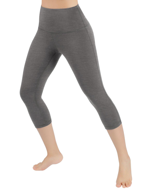 ODODOS PANTS レディース B077NY882J XL|Highwaistcapri817-grey Highwaistcapri817-grey XL